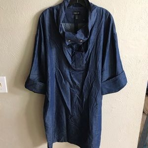 Ronan Chen chambray dress size 10